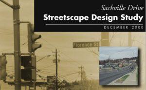 Sackville Drive Streetscape Design Study, 2001